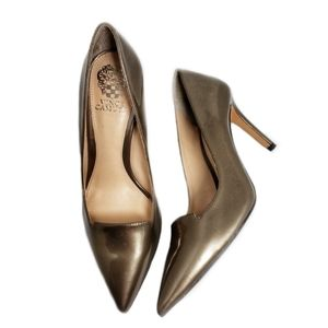 Vince Camuto Panan Slip-On Patent Leather Heels